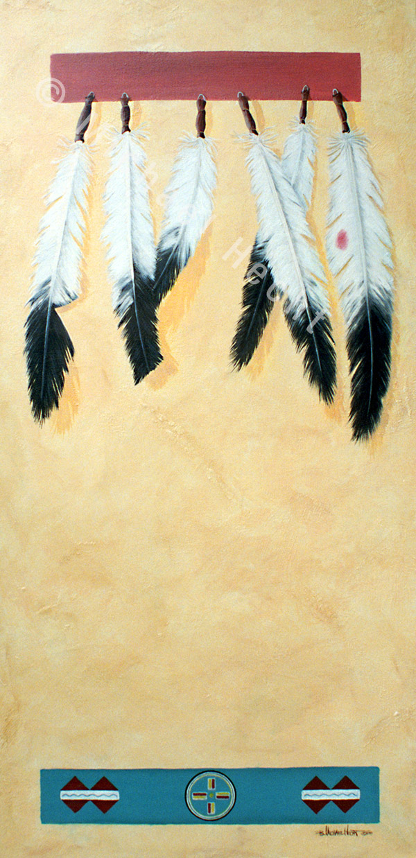 Coup Feathers. By B. Michael Hecht