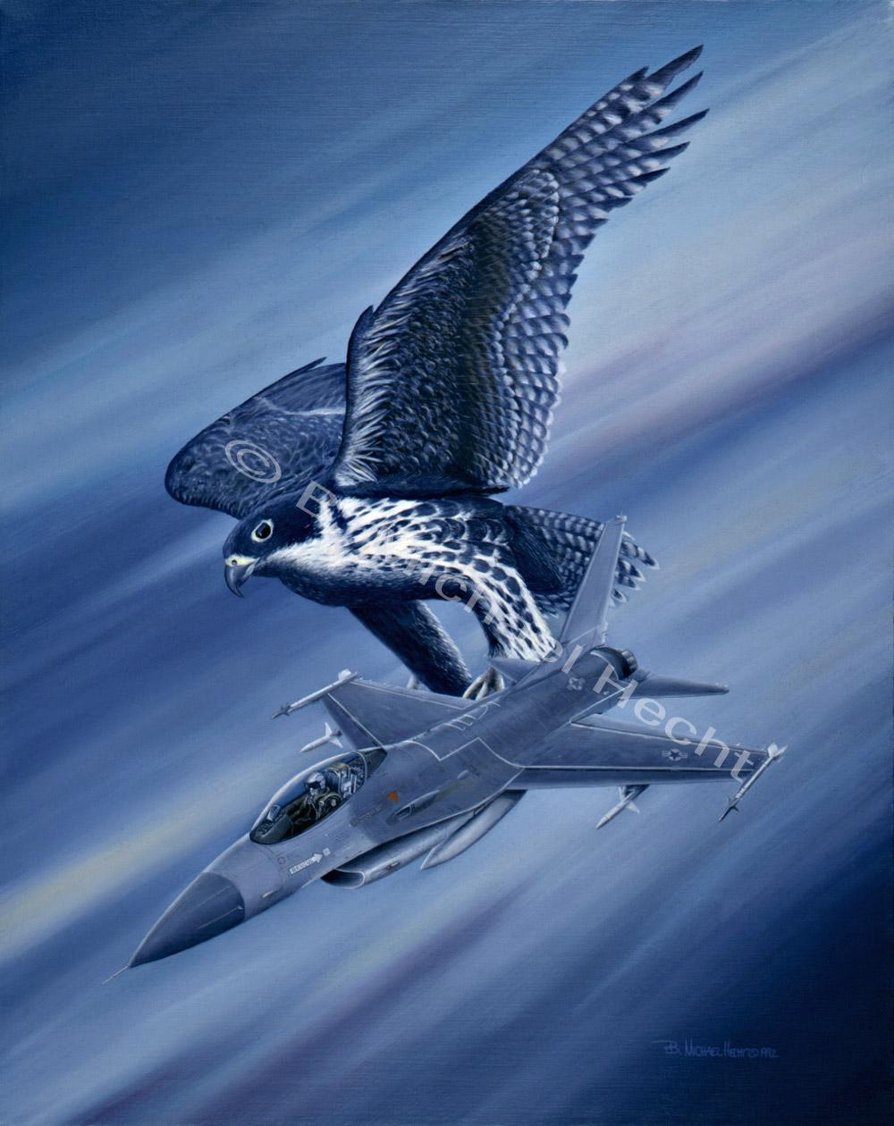 Falcon Fury II, by B. Michael Hecht